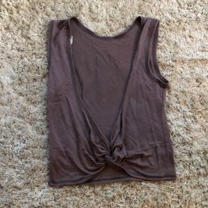 TRESICS Backless Knotted Tank